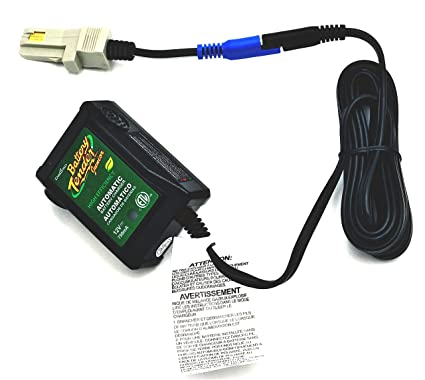 Automatic Battery Tender 12V Quick Charger for Power Wheels 12 Volt Gray and Orange Batteries by CBC