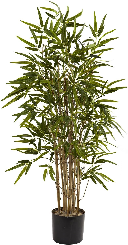 Nearly Natural 5420 Twiggy Bamboo Tree, 3.5-Feet, Green,50.5