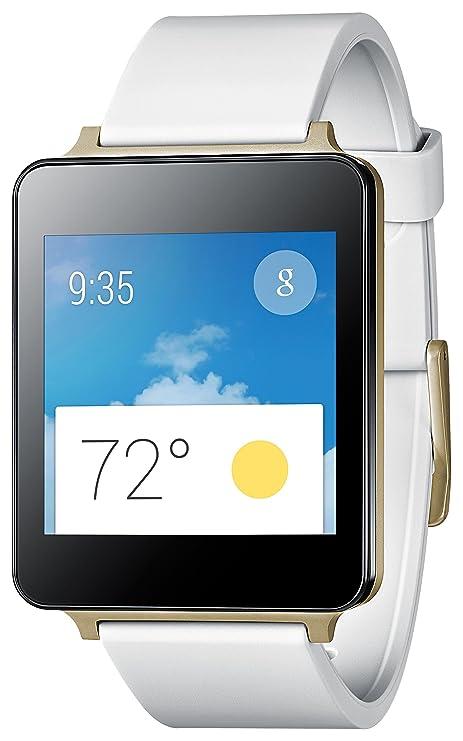 "LG G Watch 1.65"" LCD Negro, Oro Reloj Inteligente - Relojes Inteligentes (4"