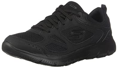 9990c8d1e85 Skechers Summits Suited Womens Sneakers Black 5