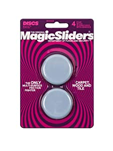 "MAGIC SLIDERS L P 4050 4 Pack 2"" RND Sliding Disc (Packaging May vary)"