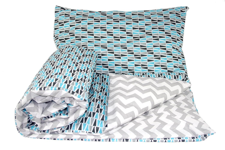 Pillowcase Babys Comfort Reversible 2pcs Baby Bedding Set Duvet//Quilt Cover 150x120cm for Junior beds, 13