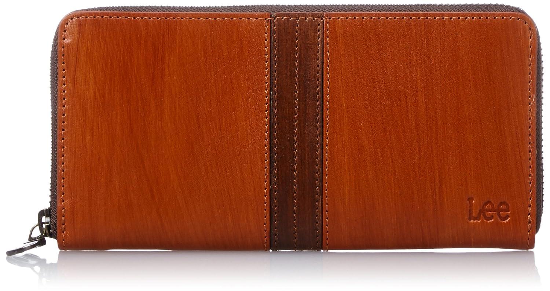 [リー] 財布 高級イタリアンレザー ラウンドファスナー長財布 320-1903 B0105L5BUM オレンジ オレンジ