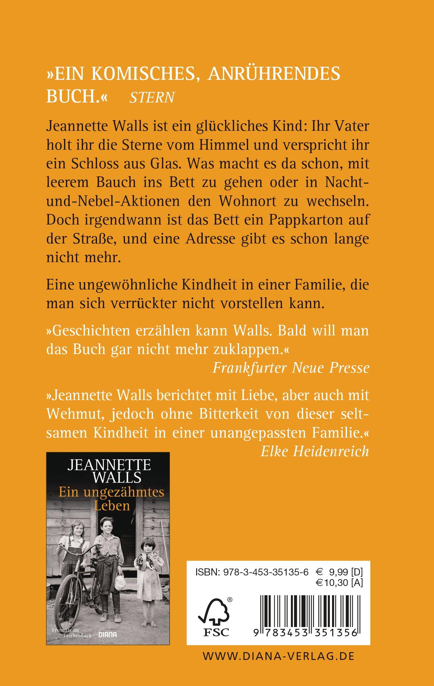 Schloss aus Glas: Jeannette Walls: 9783453351356: Amazon.com: Books