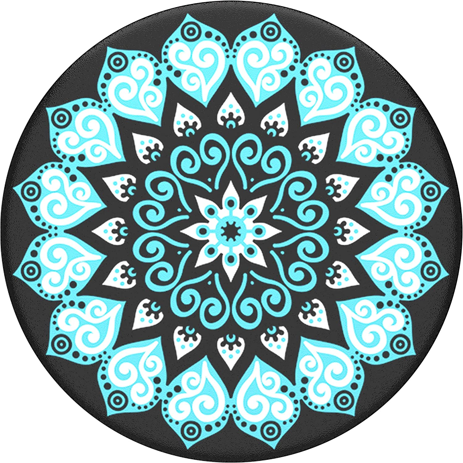 Swappable Grip for Phones /& Tablets PopSockets PopGrip Peace Mandala Sky