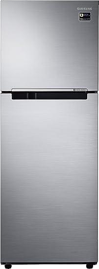 Samsung 253 L 2 Star Frost Free Double Door Refrigerator RT28M3022S8, Elegant Inox, Inverter Compressor  Refrigerators