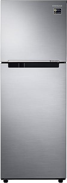 Samsung 253 L 2 Star   2019   Frost Free Double Door Refrigerator RT28M3022S8, Elegant Inox, Inverter Compressor  Refrigerators