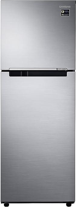 Samsung 253 L 1 Star Frost Free Double Door Refrigerator RT28M3022S8, Elegant Inox, Inverter Compressor