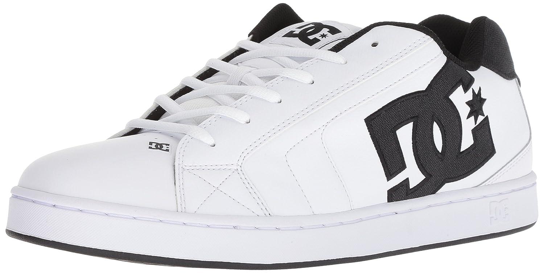 DC Men's Net SE Skate Shoe 9.5 D(M) US White/White/Black