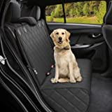 Active Pets Bench Dog Car Seat Cover for Back Seat, Waterproof Dog Seat Covers for Cars, Durable Scratch Proof Nonslip, Prote