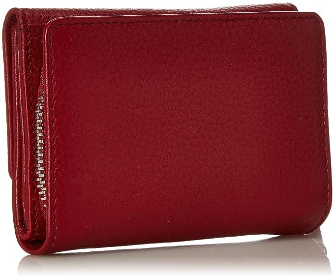 Bree Liv 108, Brick Red, Zipped Combi. Purse, Portefeuilles femme, Rot (Brick Red), 2x11.5x13 cm (B x H T)