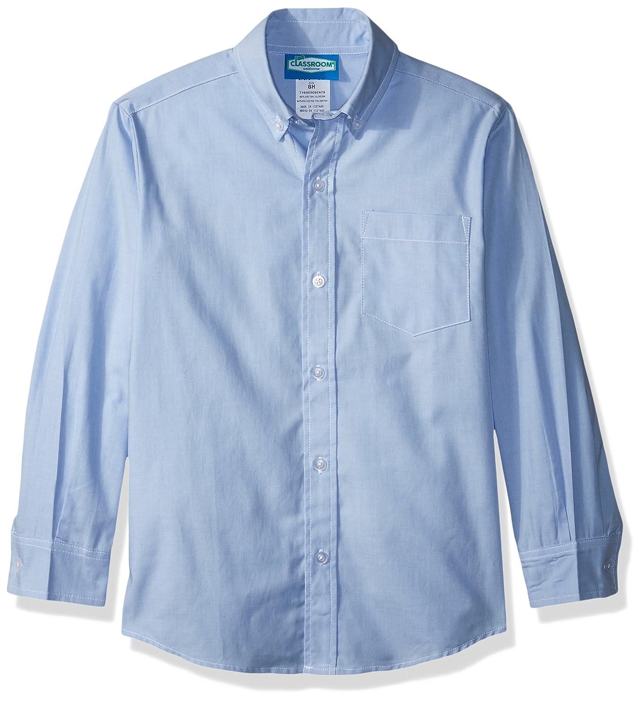 Classroom Uniforms Boys' Big Husky L/S Oxford Shirt 57673