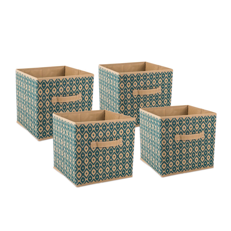 Amazon.com: DII Contenedores de almacenamiento de tela ...