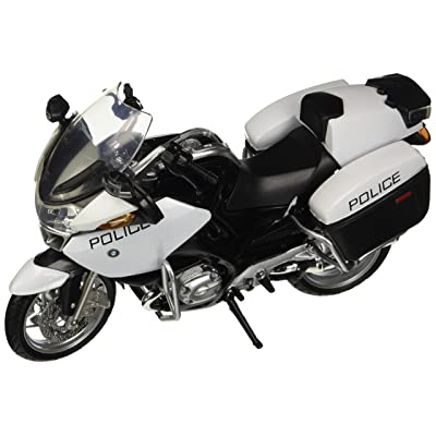 New Ray Toys 1:12 BMW R1200 RT-P Police Bike: Toys & Games