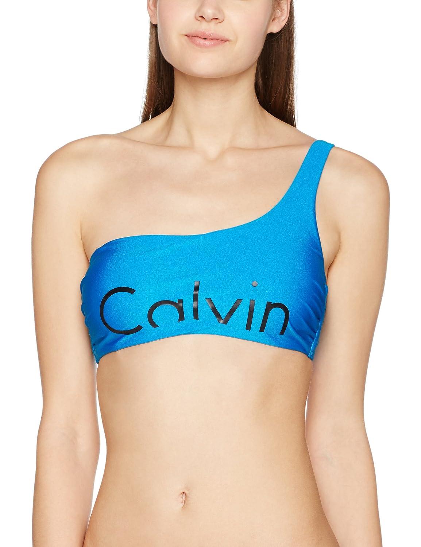 Calvin Klein One Shoulder Bralette-RP, Bikini Donna KW0KW00054