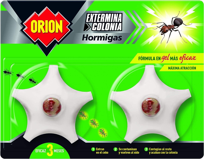 Orion - Cebo en Gel para Eliminar Colonias de Hormigas - Pack de 2 ...