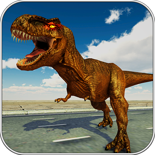 Dinosaur in city Simulator 2018 3D