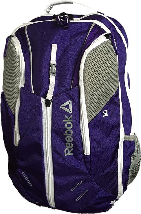 Reebok Delta Core Axel Backpack - Purple White  Amazon.ca  Luggage   Bags ef0383d8e82