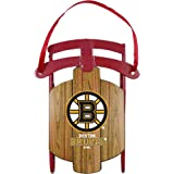 NHL Boston Bruins Metal Sled Ornament