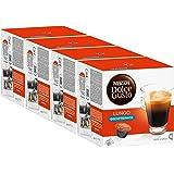 Nescafé Dolce Gusto Caffè Lungo Decaffeinato, Lot de 4, 4 x 16 Capsules