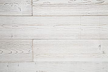 Amazon Com Woodywalls Peel And Stick Wood Panels 19 5 Sq Ft Per Box White Washed Home Kitchen
