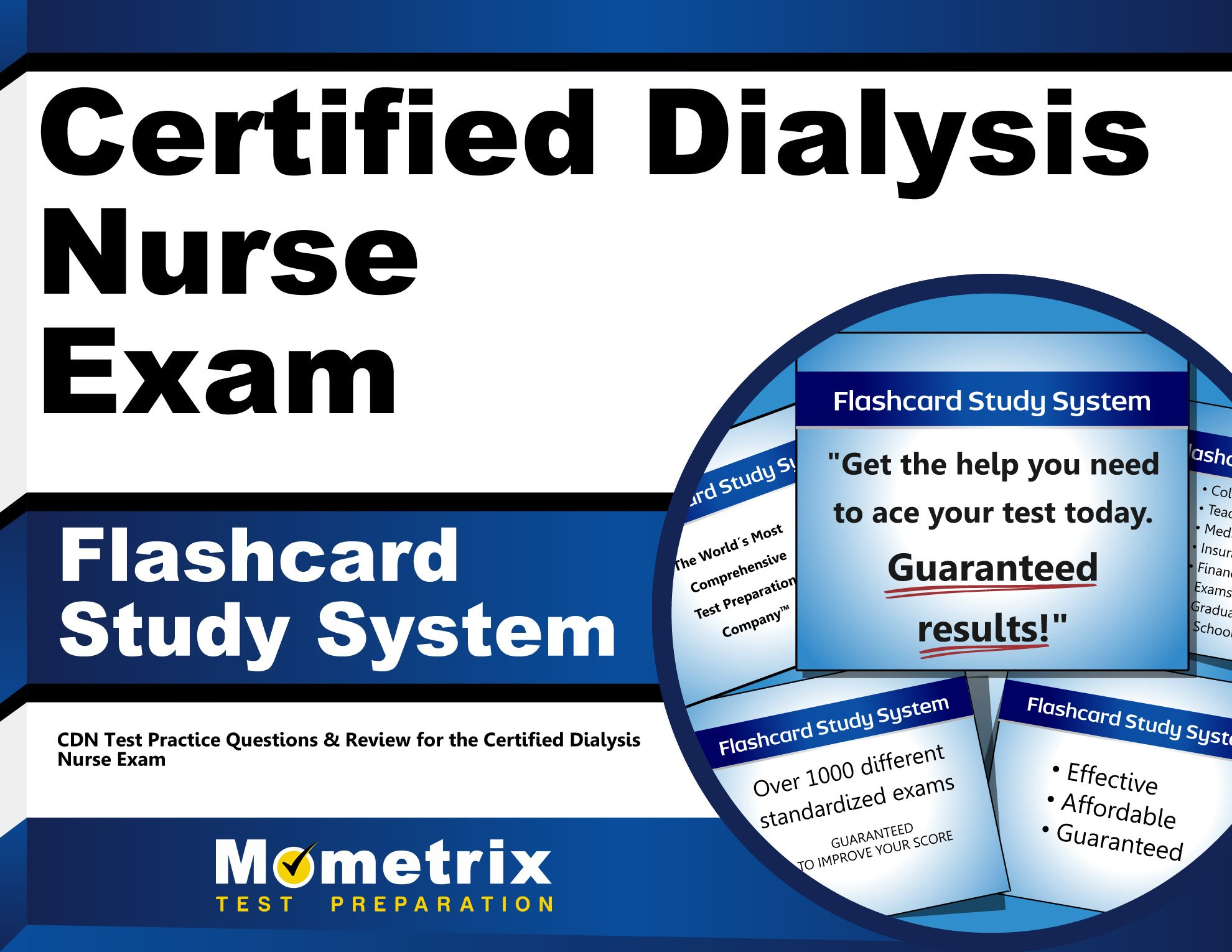 Download Certified Dialysis Nurse Exam Flashcard Study System: CDN Test Practice Questions & Review for the Certified Dialysis Nurse Exam (Cards) pdf