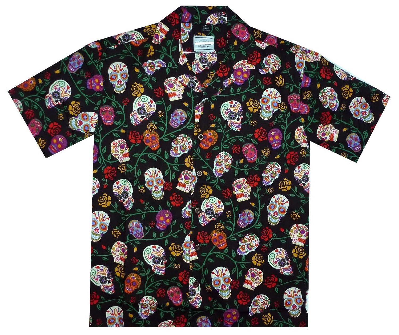 Hawaiian Shirt, Day of the Dead, S-4XL