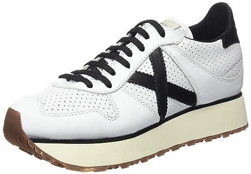 Munich Massana Sky - Zapatillas de Deporte para Mujer, Color Blanco, Talla 37: Amazon.es: Zapatos y complementos