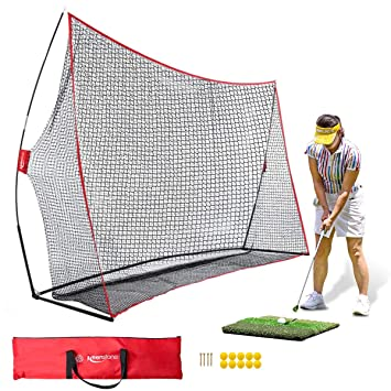 Amazon.com: Keenstone - Red de golf portátil de 9.8 x 6.9 ft ...