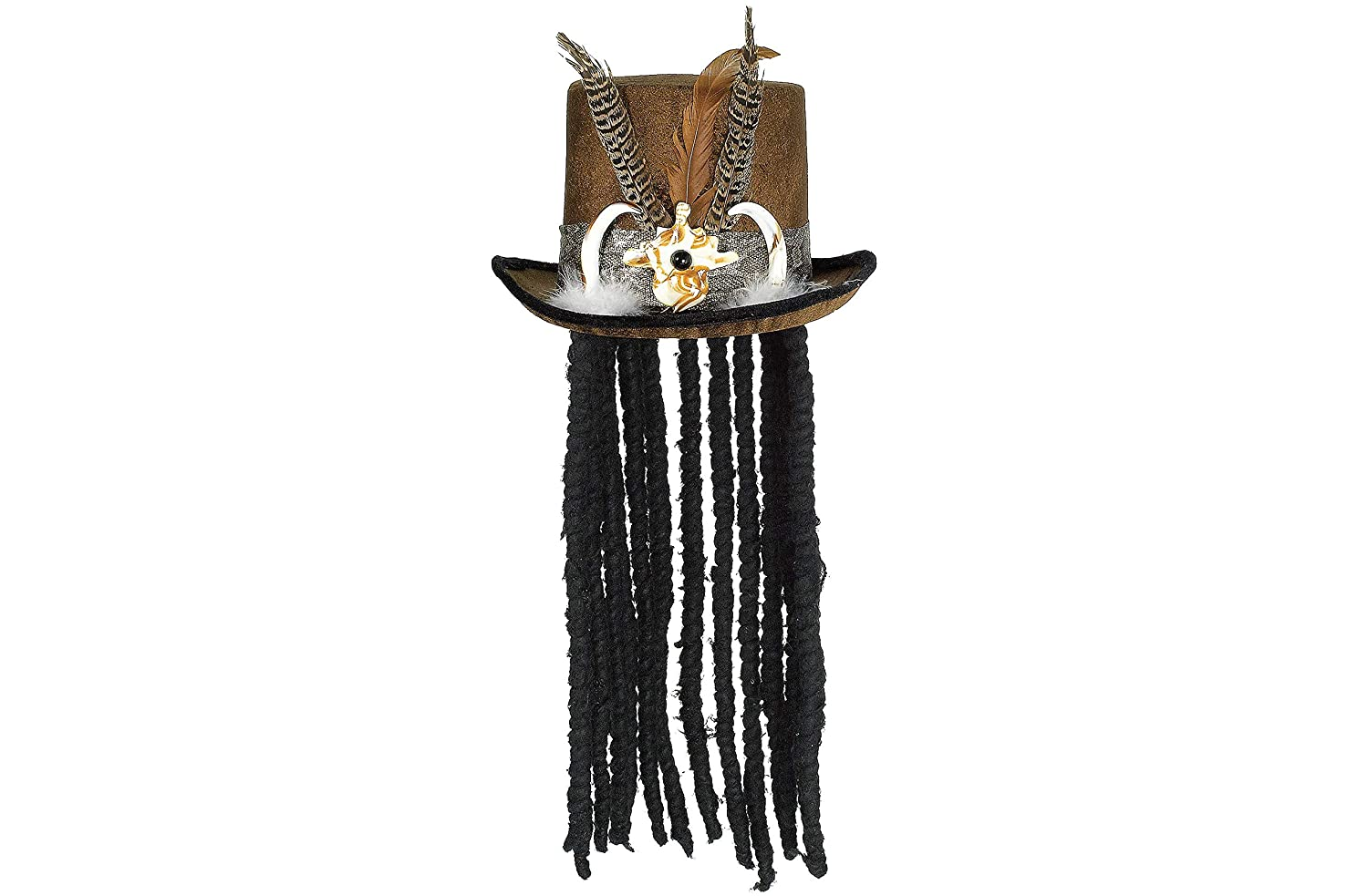New Witch Doctor Hat with Dreads
