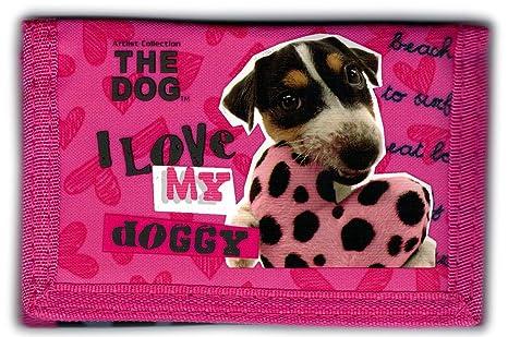 The Dog - I Love My Doggy - Cartera con Monedero de Cartera ...