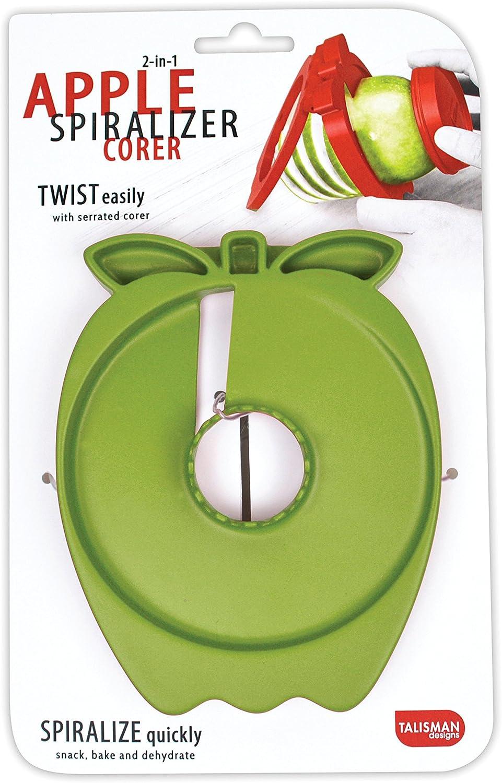 Talisman Designs 00539 Apple Spiralizer Corer