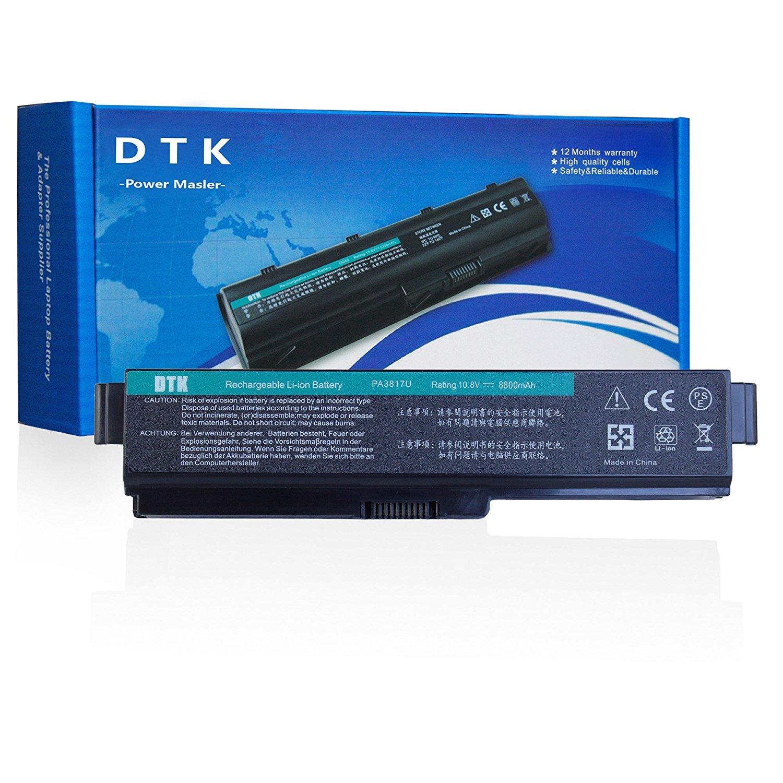 Dtk® Batería de Repuesto para Portátil Toshiba Pa3817u-1brs Pa3819u-1brs Satellite C600 L640 L650 L650d L655 L700 L745 L755d M640 M645 P745 P755 P775 ...