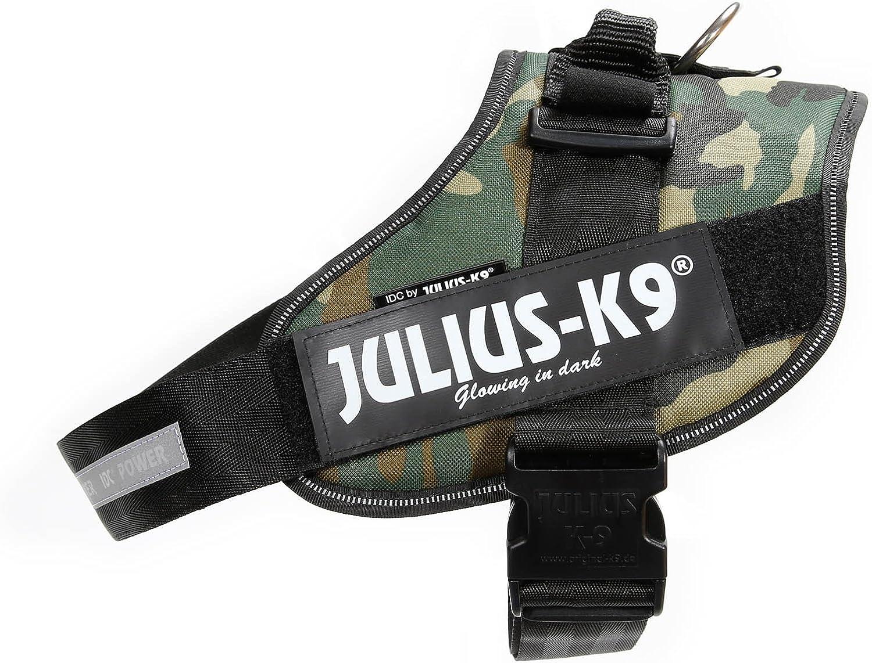 Julius-K9 IDC-Power Harnais pour Chien Camouflage Arm/ée Taille 2