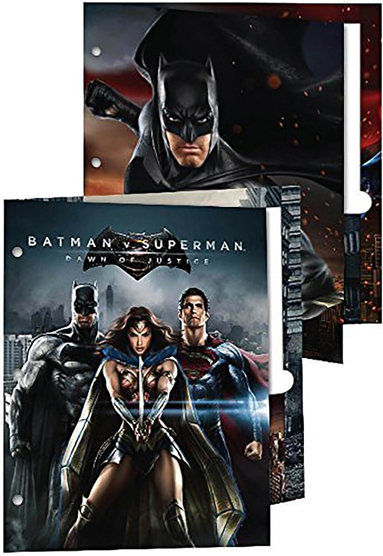 Batman Vs Superman cartera carpetas – Pack de 2: Amazon.es ...