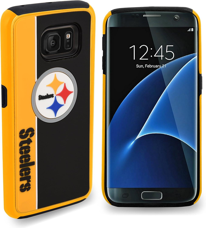FOCO NFL Unisex-Adult NFL Bold Layered Galaxy S8 Case
