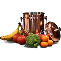 Copper Plated Compost Bin for your Kitchen by MULE