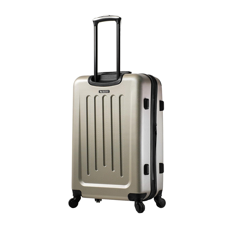 Gold Mia Toro Italy Catena Hardside Spinner Luggage 3 Piece Set