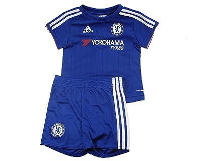 Chelsea FC Adidas azul casa bebé Mini camiseta de fútbol pantalones cortos Kit 2015 – 16