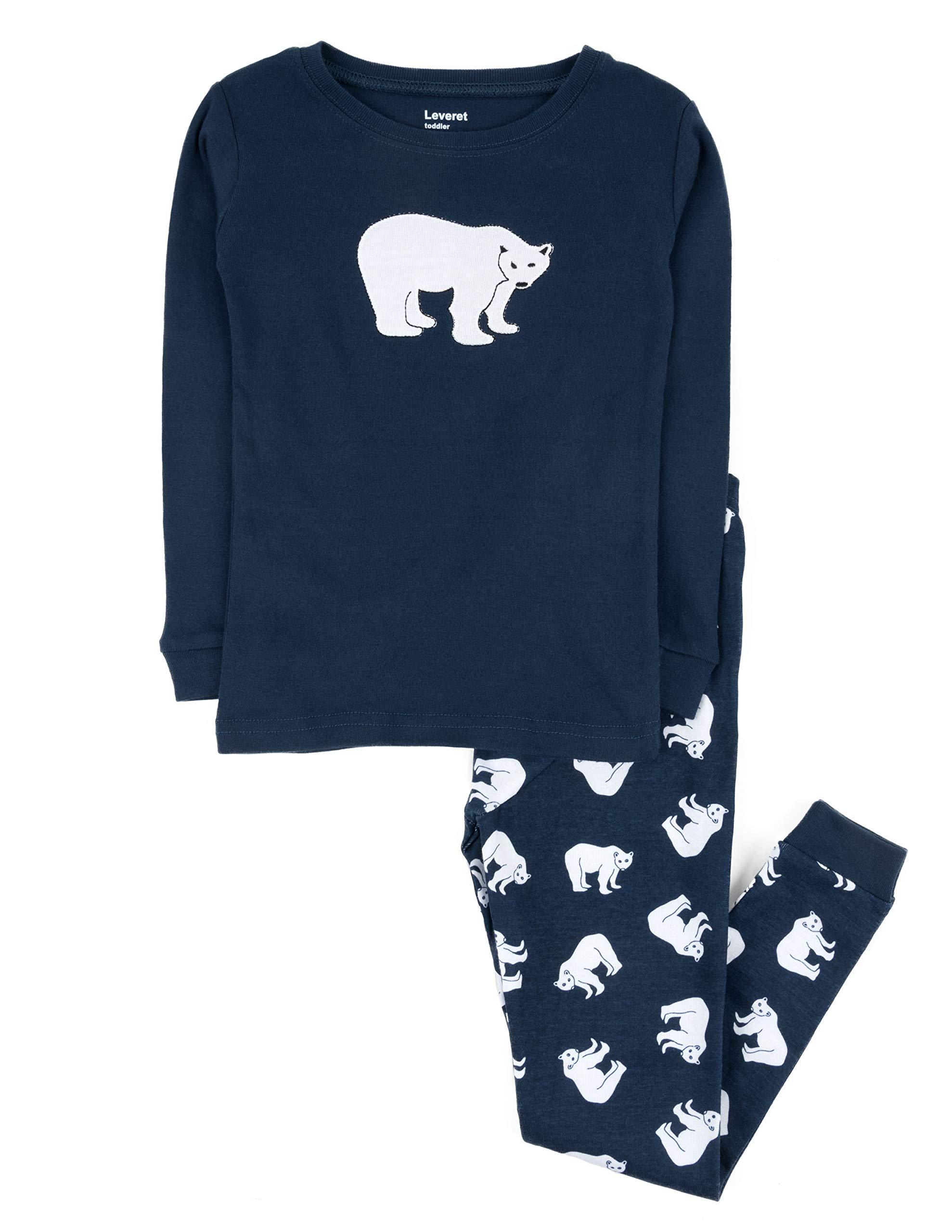 Leveret Kids /& Toddler Pajamas Owl Boys Girls 2 Piece Pjs Set 100/% Cotton Sleepwear 12 Months-14 Years