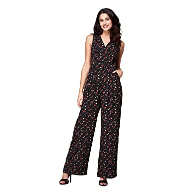fdc6d3651b8 Image Unavailable. Image not available for. Colour  Yumi Ditsy Flower  Jumpsuit