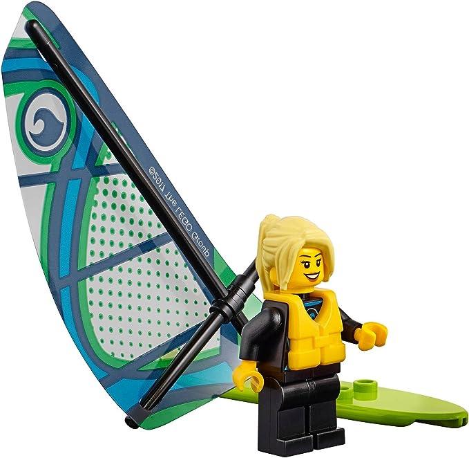Lego 6075-Long surfboard windsurfer     a15 10L