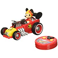 Deals on Jada Toys Disney Mickey Roadster Racer RC Vehicle 98038