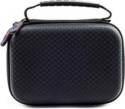 Compatible with The Sainlogic Action cam 4k DURAGADGET Portable Carry Case w//Padded Interior /& Shoulder Strap