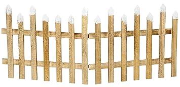 Deko Zaun Holz Zaun Jager Zaun 3 Zaunelemente A 40 Cm Zum Klappen 30