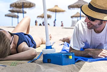 Caja fuerte para la playa CON ALARMA : Cajaplaya con ALARMA