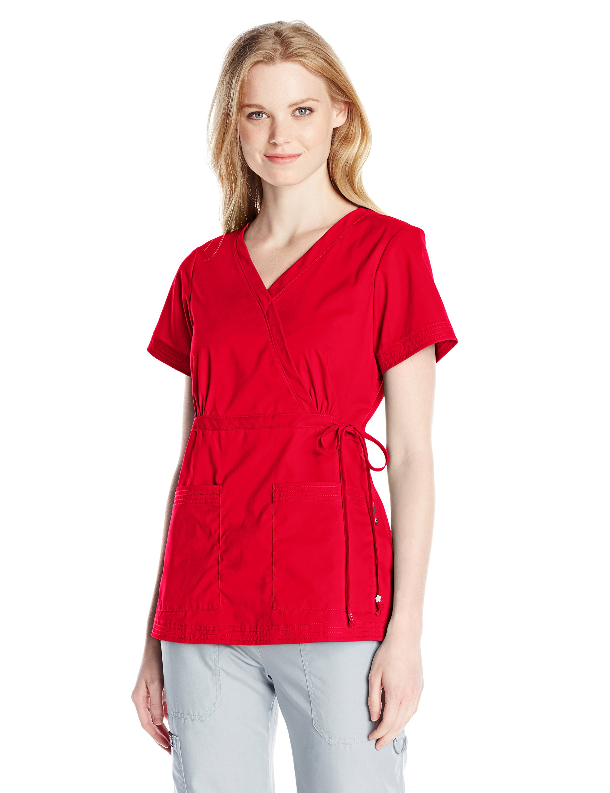 KOI Medical Scrubs Katelyn Top Ruby X-Small