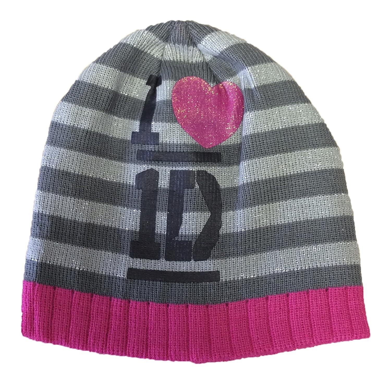 Peppa Pig Auto One Direction Sock Snob Ragazze e Ragazzi Bambini Cappello Carattere Inverno e Set di Guanto