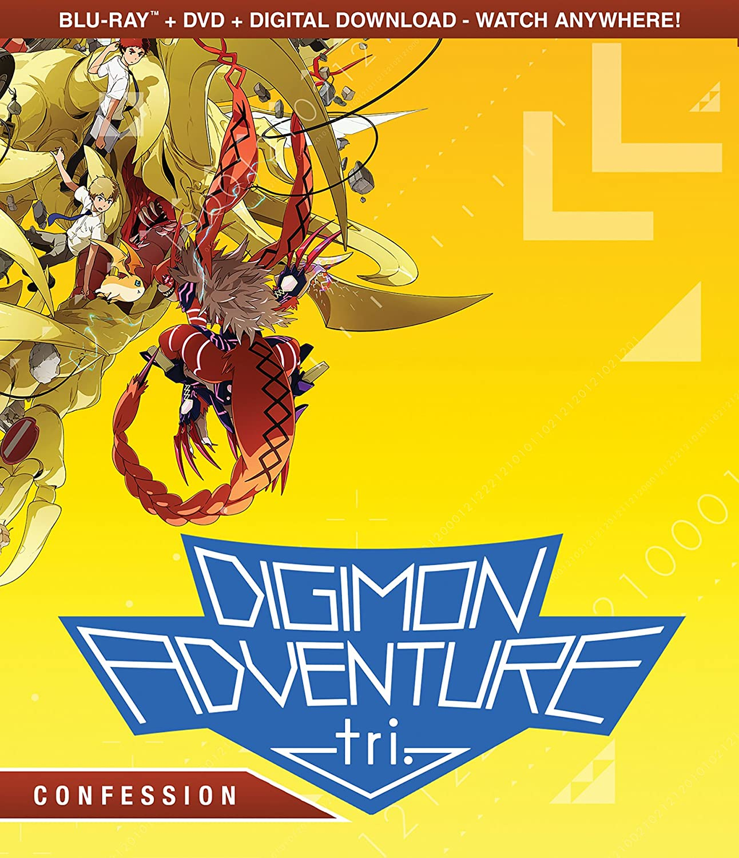 amazon com digimon adventure tri confession bluray dvd combo