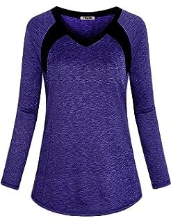 5e09b8092 Hibelle Women s Long Sleeve Activewear Yoga Running Workout T-Shirt Tops